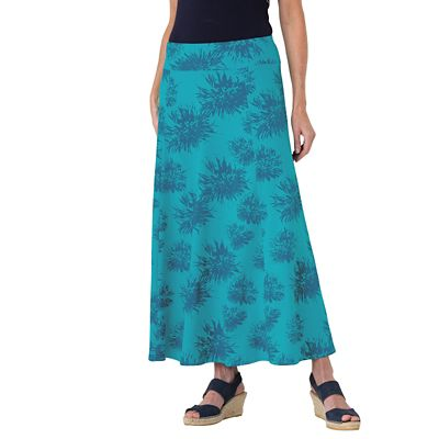 Indispensable Long Floral Travel Skirt