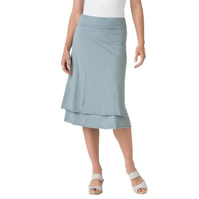 Indigenous Designs Organic Cotton Double-Layer Skirt