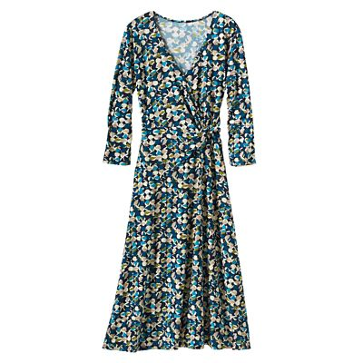 Walkabout Knit Faux-Wrap Dress