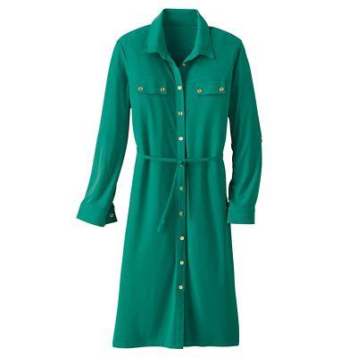 Walkabout Knit Eleanora Shirtdress