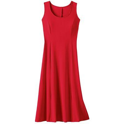 Jet Set Sleeveless Princess-Seamed Dress