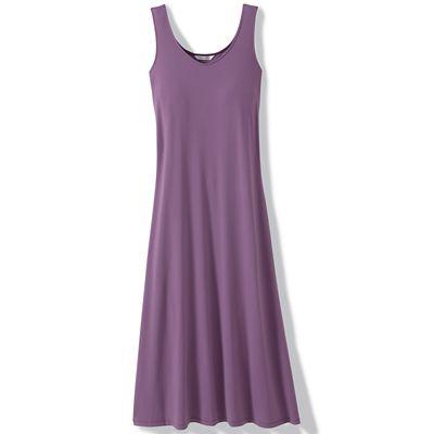 Plus Size Sleeveless Maxi Indispensable Travel Dress
