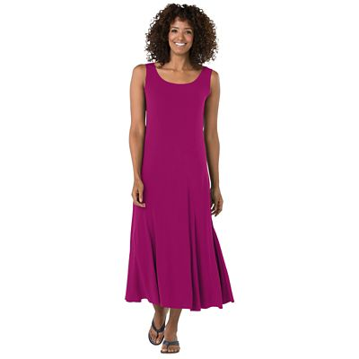 Plus Size Walkabout Knit Seamed Jersey Dress