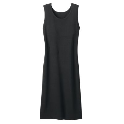 Fine-Gauge Sweater-Knit Sleeveless Dress