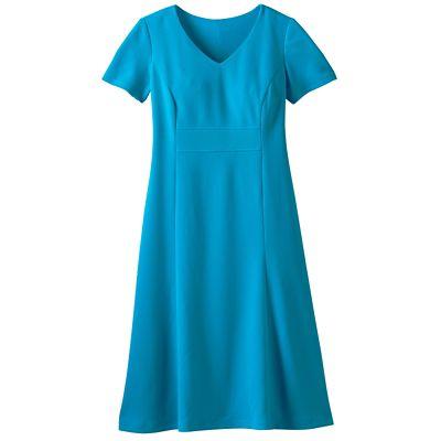 Short-Sleeve Audrey Dress