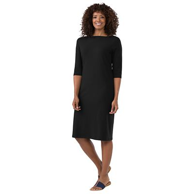 Indispensable Travel Boatneck Dress