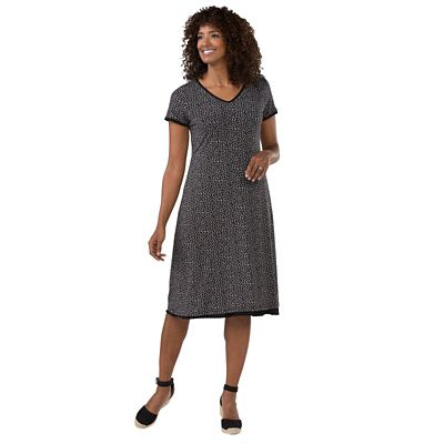 Plus Size Walkabout Knit 4-in-1 Keyhole Dress