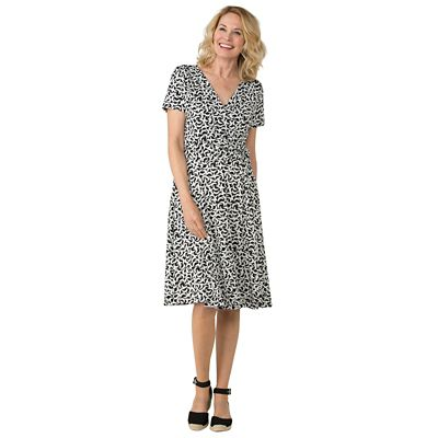 Samantha Brown Walkabout Knit Crescent Moon Dress