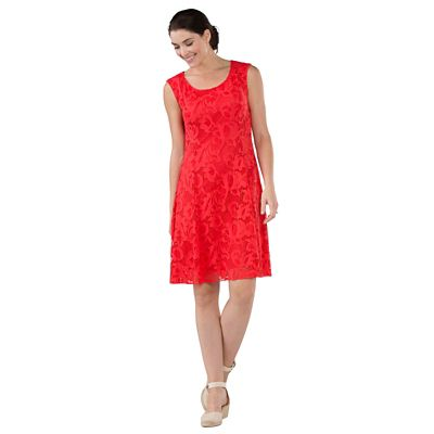 Peony Stretch-Lace Dress