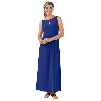 Walkabout Knit Convertible-Neck Maxi Dress