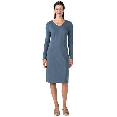 Ponte Knit A-Line Dress