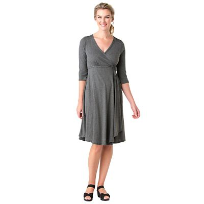 Indigenous Designs Organic Cotton Faux-Wrap Dress
