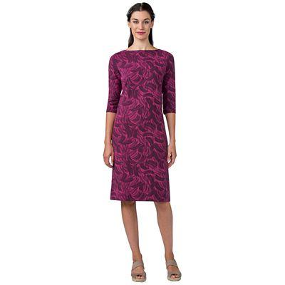 Indispensable Print Boatneck Dress