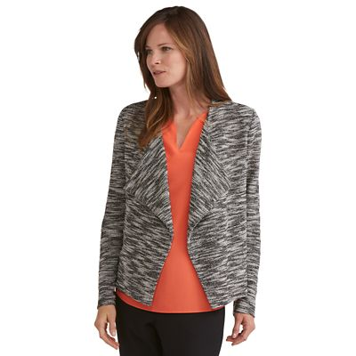 Samantha Brown Marled Knit Jacket