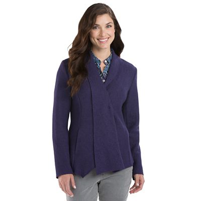 Women's Glasgow Boiled Wool Jacket