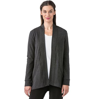 French Terry Athleisure Cardigan