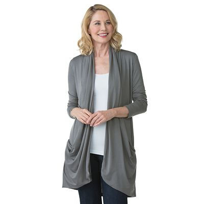 SCOTTeVEST Madeline Long Cardigan