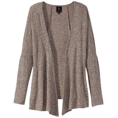 Butter-Soft Front Drape Cardigan