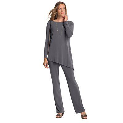 Plus Size Original Fit Walkabout Knit Cascade Two-Piece Pant Set