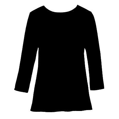 3/4-Sleeve Silk-Cotton Sweater