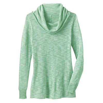 Lightweight Cowlneck Sweater