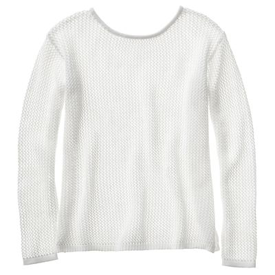 Samantha Brown Chesapeake Open-Knit Sweater