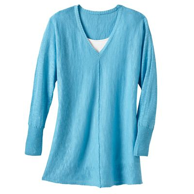Plus Size Samantha Brown Sonora V-Neck Sweater