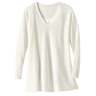 Plus Size Samantha Brown Sonora V-Neck Sweater