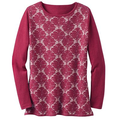 Jacquard Pattern Sweater