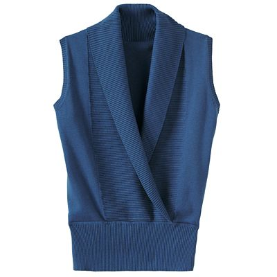 Crossover Sweater Vest