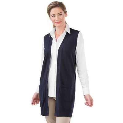 Sierra Long Sweater Vest
