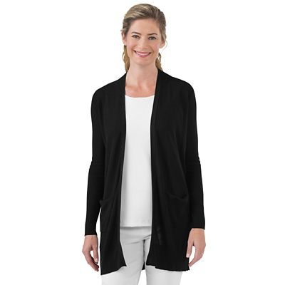 Button-Back Cardigan Duster