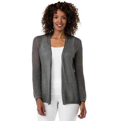 Indigenous Organic Cotton Netted Cardigan