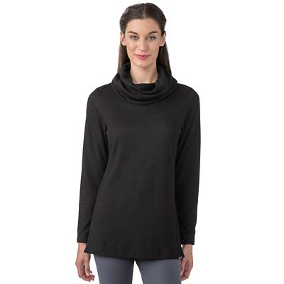 ExOfficio Cowl Neck Tunic Sweater