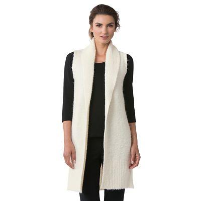 Cozy Bouclé Long Vest