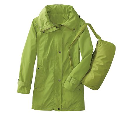 Anywhere Packable Raincoat