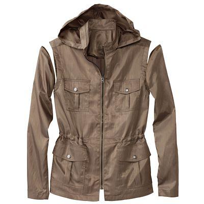 Plus Size Convertible 4-Way Vest/Jacket