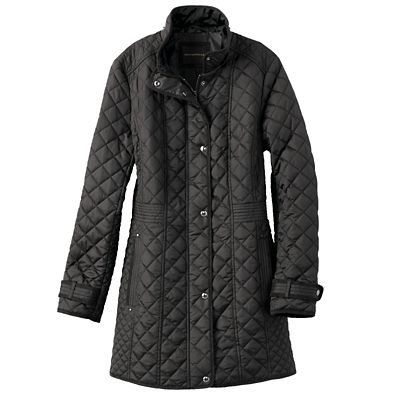 Diamond Quilt Field Coat
