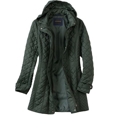 Diamond Quilt Field Coat