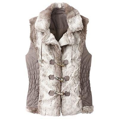 Uppsala Faux-Fur Vest