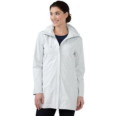 RFID-Blocking Shadow Print Raincoat