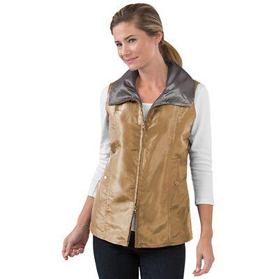 Women's Reversible Shimmer Vest