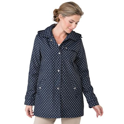 Weatherproof Polka Dot Mac Raincoat