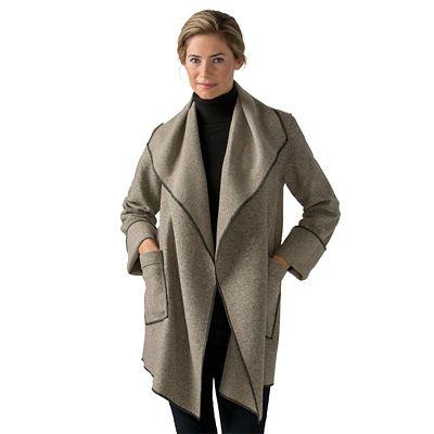 Janska Wrap Coat