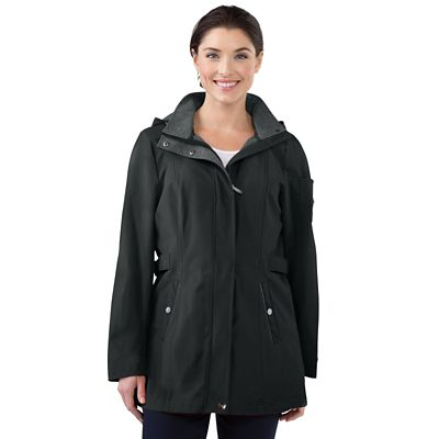 Hooded Soft-Shell Parka