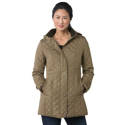 Plus Size Weatherproof Wayfinder Quilted Coat