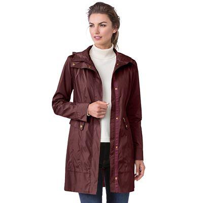 Cole Haan Packable Rain Jacket