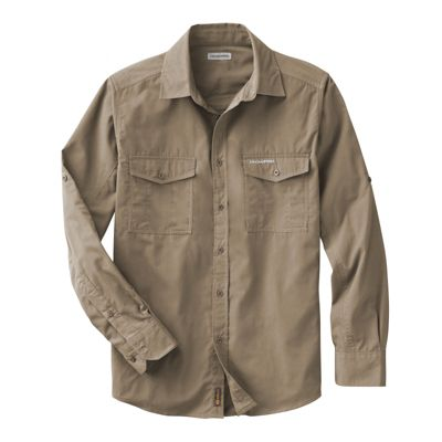 Men's Craghoppers Kiwi Long-Sleeved Shirt