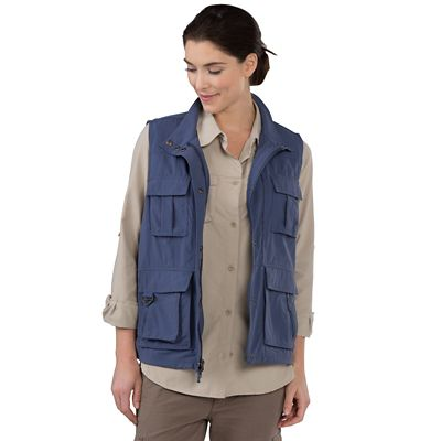 Plus Size Women's 15-Pocket Voyager Vest