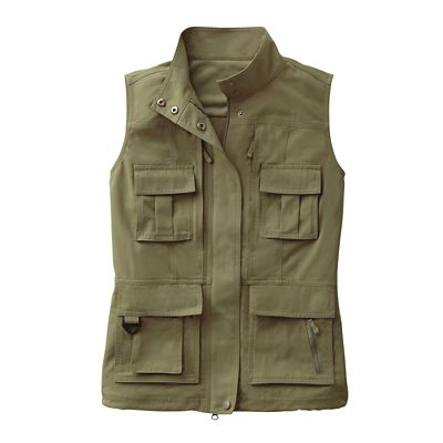 Plus Size Women's 15-Pocket Voyager Vest